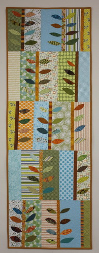 wall leaf quilt haning applique