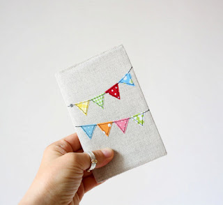 Pili pili stitched notebook