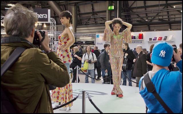 Olympus OM-D E-M5 stand Focus On Imaging show Birmingham 2012