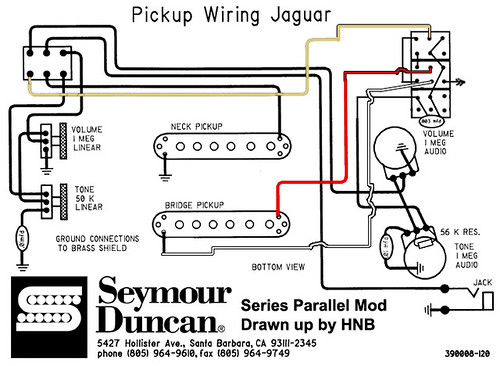jaguar series pickup wiring
