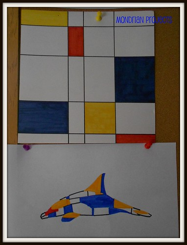Mondrian Projects with Markers
