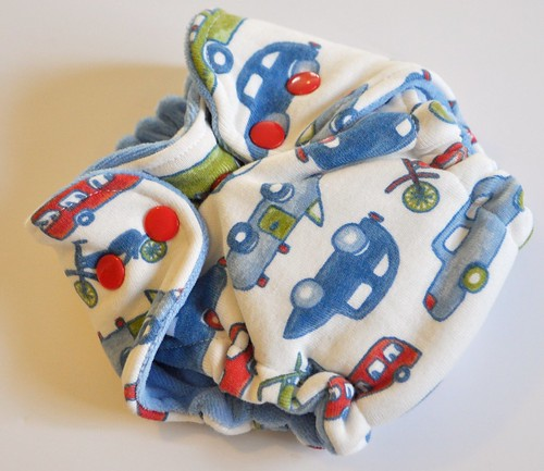 Bumstoppers Newborn Baby Nay Traffic Fitted