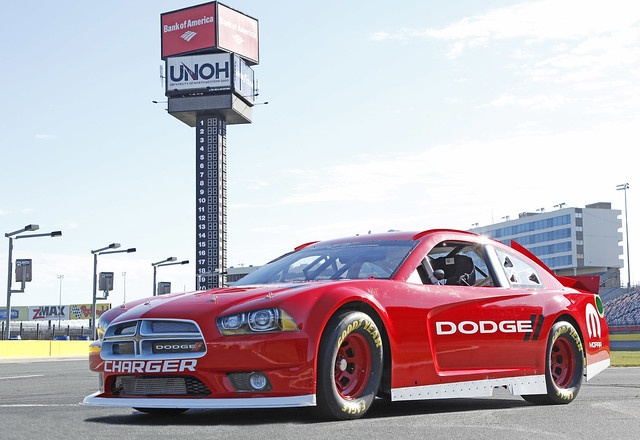 Dodge Charger Race Car For 2013 Sprint Cup Series