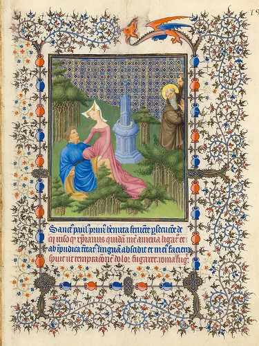 012- Belles Heures of Jean de France duc de Berry- Folio 191r - ©The Metropolitan Museum of Art
