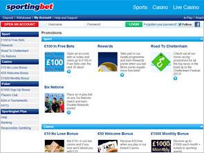 Sportingbet Sport Bonus
