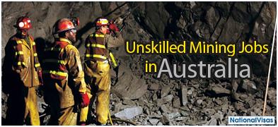 australia unskilled mining jobs australia no experience
