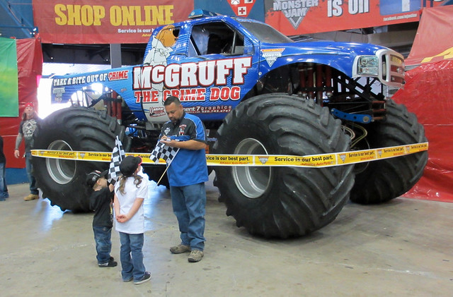 Tucson, start your engines! Monster Jam is rolling into town and ready to crush a few parked cars along the way this weekend. This year's event is full of thrills for the entire family with four.