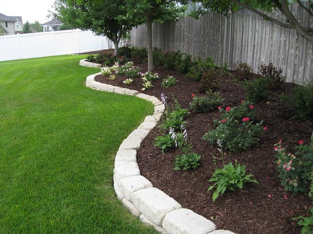 Omaha backyard landscape from lanoha nurseries flickr for Landscape design ideas for large backyards