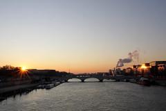 Double éclat sur la Seine
