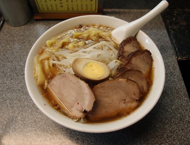 Photo:喜楽 チャーシューワンタン麺 By Yohei Yamashita