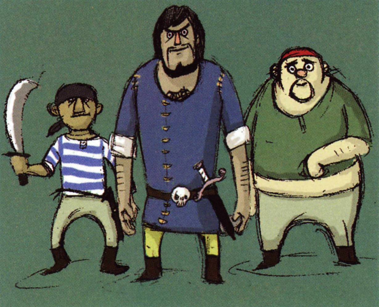 WW Pirate Crew
