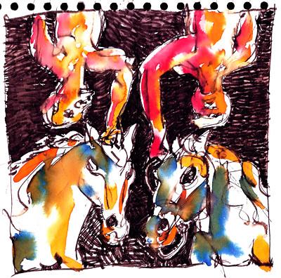 Scribble-Doodle 01 by alain bertin