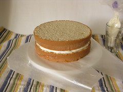 topped with the second layer