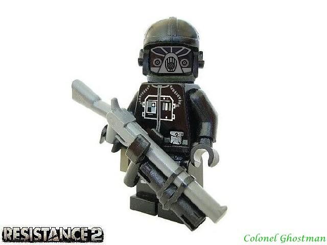 Resistance 2 Black Ops Soldier