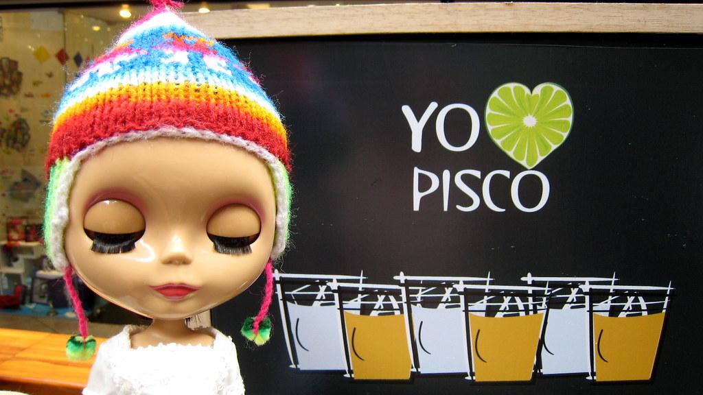 I love Pisco!