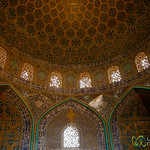 Inside Sheikh Lotf Allah Mosque - Esfahan, Iran