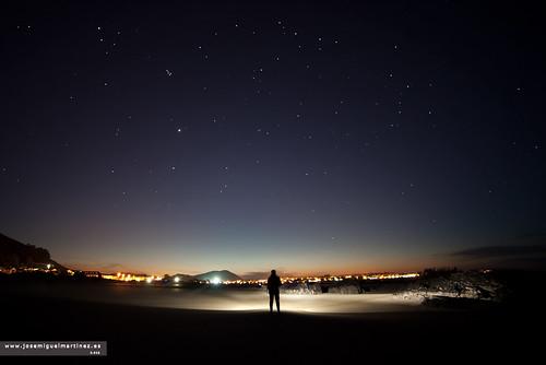 Nocturna Playa de Trengandín
