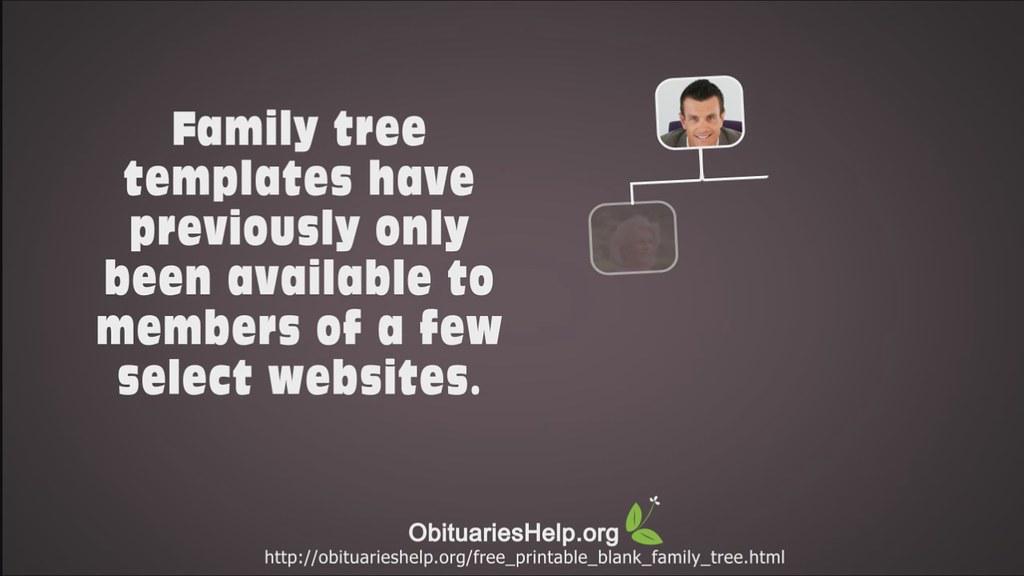 Blank Printable Family Tree Blank Printable Family Tree