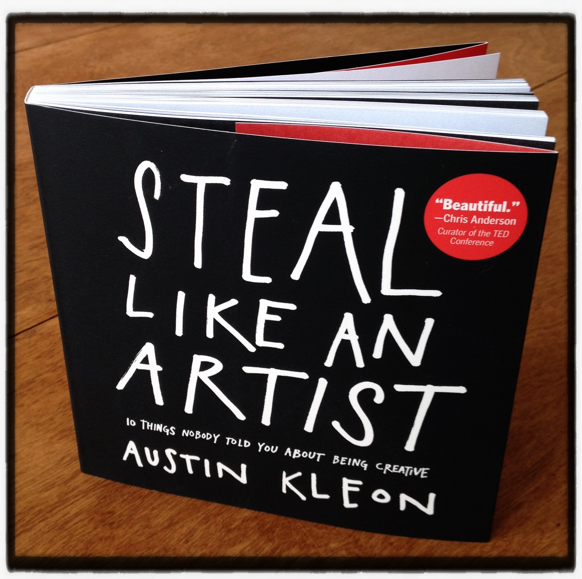 Austin kleon steal like an artist