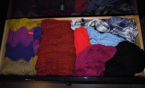 Organize Scarves by Function