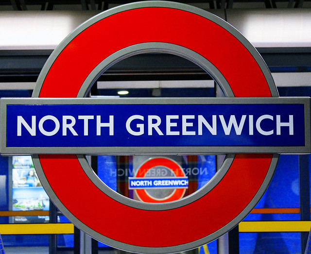 north greenwich on repeat london underground nameboards. Black Bedroom Furniture Sets. Home Design Ideas