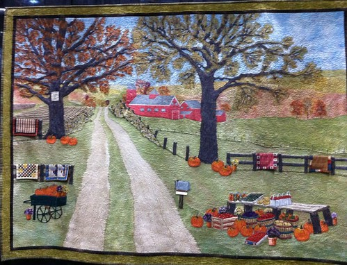 Country Roads~Quilt by Nancy Prince