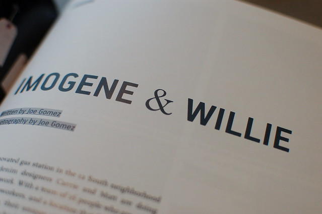 Imogene & Willie in Proxart