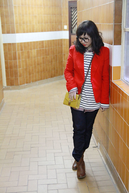 casual boyish valentine outfit