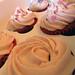 Detalle Cupcakes de Fresas Achampañadas