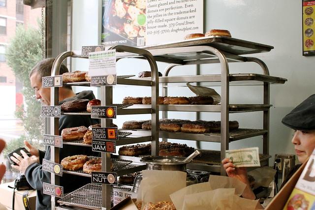 yeast on racks