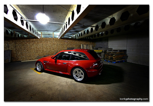 1999 BMW Z3 M Coupe | Imola Red | Black | BBS RT081 RT083 Wheels