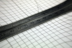 hand(0.0), tire(0.0), eye(0.0), ruler(1.0), measuring instrument(1.0), line(1.0), close-up(1.0),