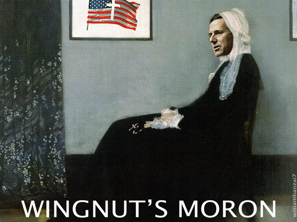 WINGNUT'S MORON