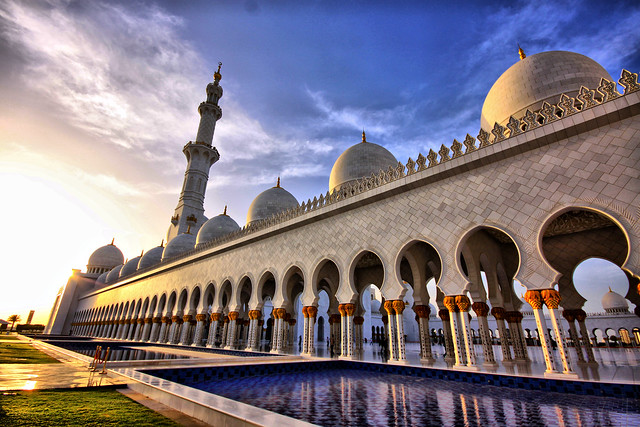 La espectacular Mezquita Sheikh Zayed en Abu Dabi 6887367227_1d69d63011_z
