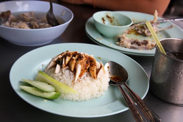 Thai style chicken rice