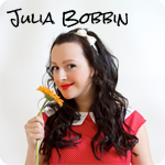 julia bobbin button