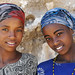 Two Oromo girls - Ethiopia