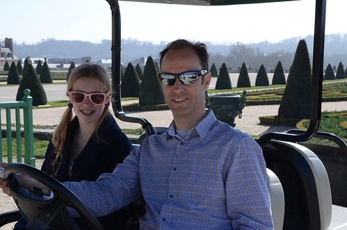 Golf cart, Versailles