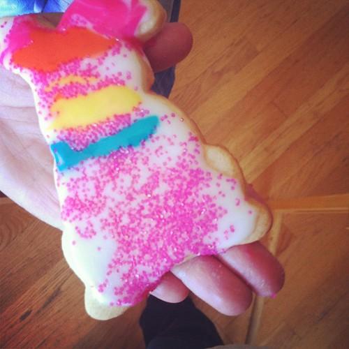 98/366 :: bunny cookie