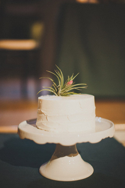 Rustic Vintage Cutting Cake