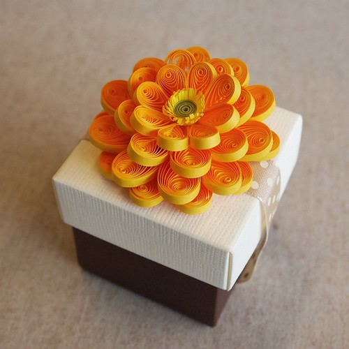All things paper quilled flowers a garden of 35 paper for Big quilling designs