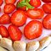 Charlotte de frutos vermelhos