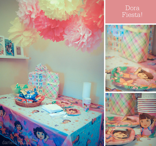 Maya' sBirthday decor