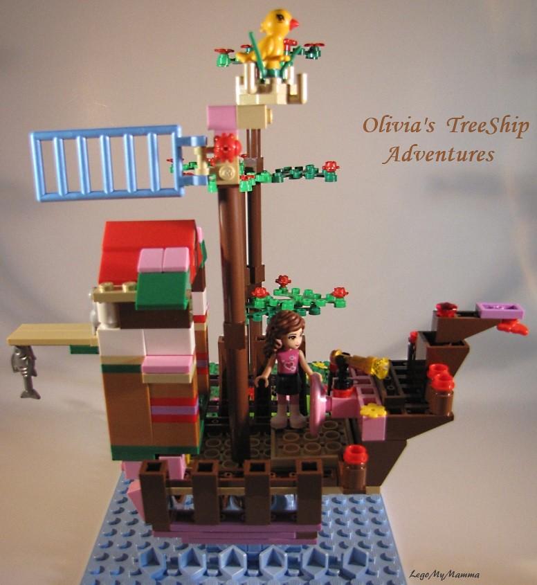 Olivia's TreeShip Adventures