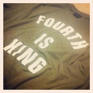 The Standard @fourthisking tee #streetwear #besttshirtever