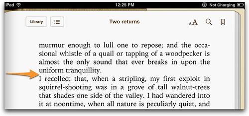 single hard returns to separate paragraphs