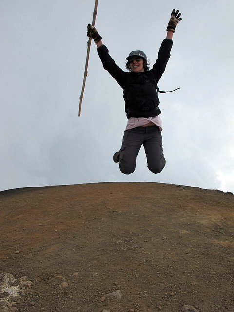 Up in the sky: on the crater of the Acatenango, Guatemala