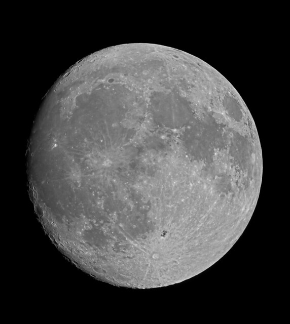 space station lunar transit - photo #5