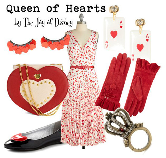 Inspired by: Queen of Hearts