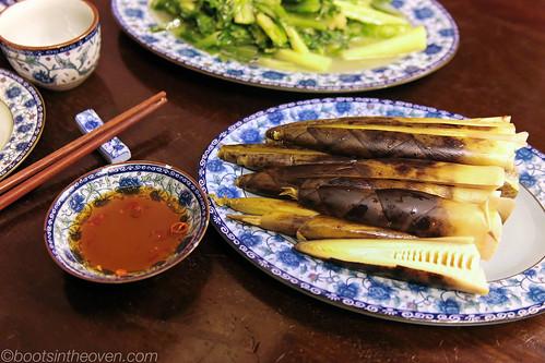 Winter Bamboo.  Think... complicated like artichoke.